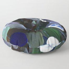 Sea Glass Assortment 4 Floor Pillow