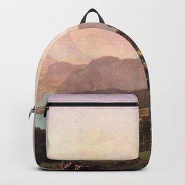 Albert Bierstadt - Bernese Alps Backpack