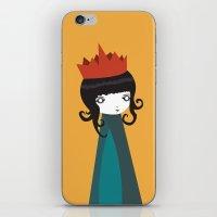 queen iPhone & iPod Skins featuring Queen by Volkan Dalyan