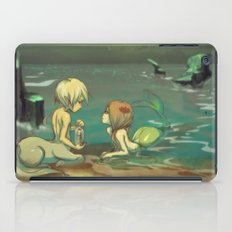 Message in the bottle iPad Case