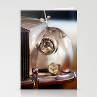 silver Stationery Cards featuring Silver by Lia Bernini