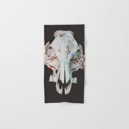 Skull + Flowers Hand & Bath Towel