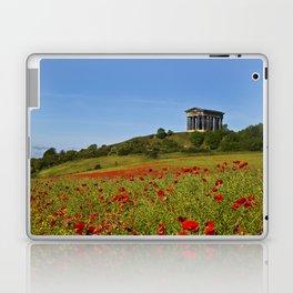 Penshaw Monument Poppys Laptop & iPad Skin