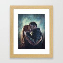 Clary & Jace Framed Art Print