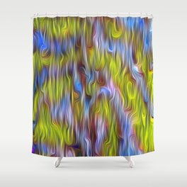 Psikedelix 116 Shower Curtain