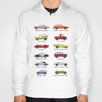 simpsons Hoodies featuring Simpsons Cars by SIME Design