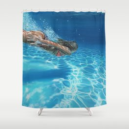 Sea pleasure Shower Curtain
