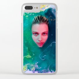 Primordial Soup of Beauty Clear iPhone Case