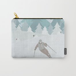 Winter mountains Carry-All Pouch