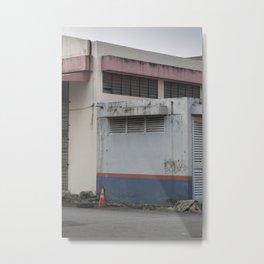 Pastel Factory Metal Print