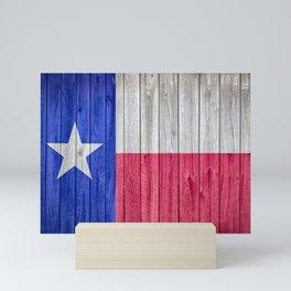 Texas State Flag Barn Wall Gifts Mini Art Print