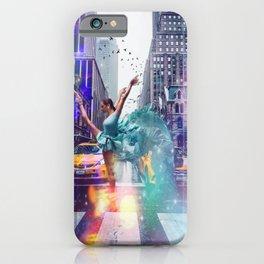 new york Ballerina iPhone Case