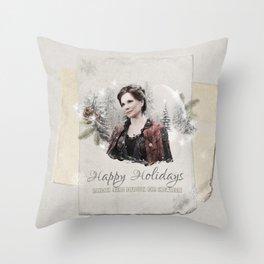 OUAT HAPPY HOLIDAYS // CORA Throw Pillow