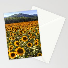 Sunflower Fields Of Dreams Stationery Cards