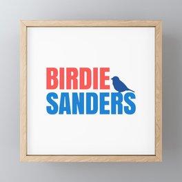 BIRDIE SANDERS 2020 BIRD Framed Mini Art Print