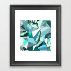 Colorflash 8 mint Framed Art Print
