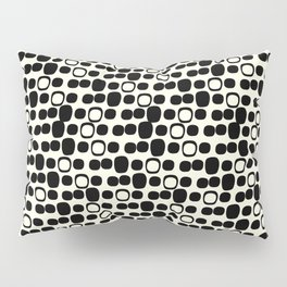 Black Tie Collection Small Geo Pillow Sham
