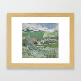 View of Auvers Framed Art Print