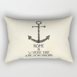 Where The Anchor Drops Rectangular Pillow