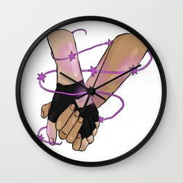 klance hands Wall Clock