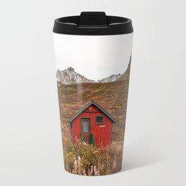 Little Red Cabin Travel Mug