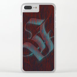 J of judgement day Clear iPhone Case
