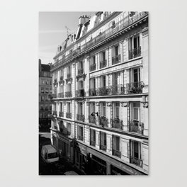 Paris - The Apartment Canvas Print