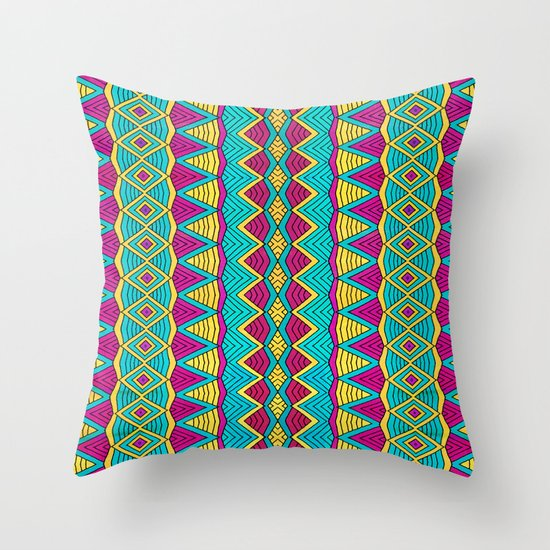 Tribal Entity Throw Pillow