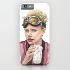 Jillian Holtzmann Portrait | Ghostbusters Art Painting iPhone 6s Slim Case