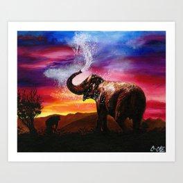 It's A Giraffe Art Print