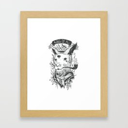 King Of All Framed Art Print