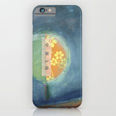 bee and flower iPhone 6s Slim Case