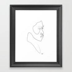 Punaauia (after Boullaire) Framed Art Print