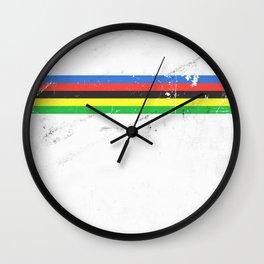 Jersey minimalist cycling Wall Clock