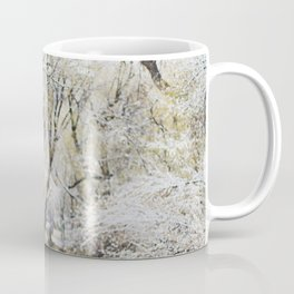 A Creek on a Snowy Day in Boulder, Colorado Coffee Mug
