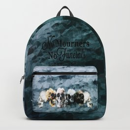 No Mourners - Black Backpack