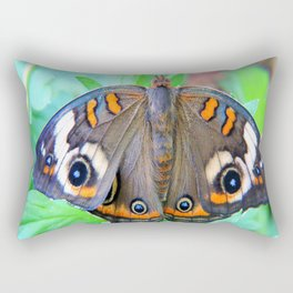 Un-Common Buckeye Moth Rectangular Pillow