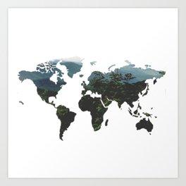 World of Nature Art Print