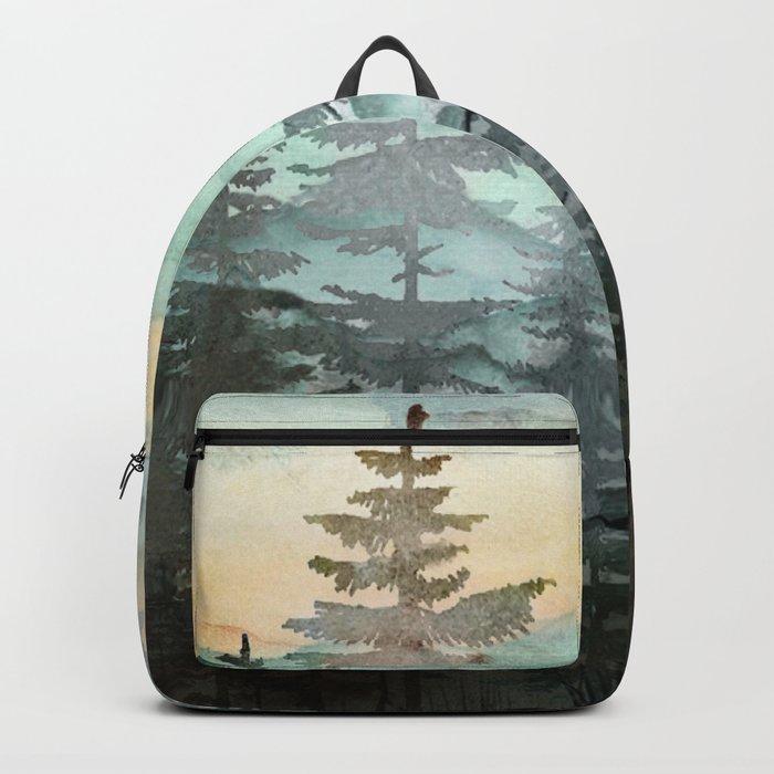 Pine Trees Rucksack