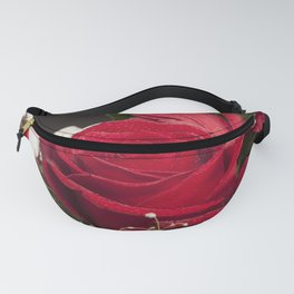 Red Bouquet Fanny Pack
