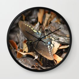 Butterflies Are FREE Wall Clock