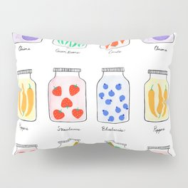 Canning Jars Pillow Sham