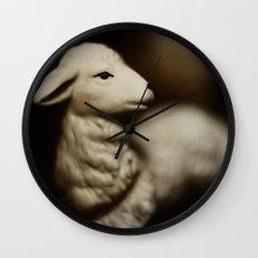 Tom Feiler Lamb Wall Clock
