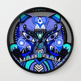 LISHKA BLUE Wall Clock