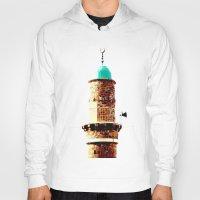 israel Hoodies featuring Al-Bahr Mosque, Jaffa, Israel by Philippe Gerber