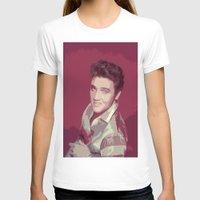 elvis presley T-shirts featuring Elvis Presley by Neon Monsters