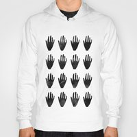 hands Hoodies featuring hands by namaki