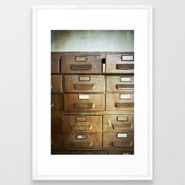 Get Your Hands Off My Drawers Framed Art Print