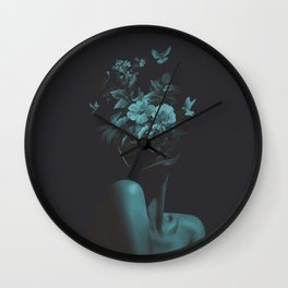 Dead Flowers (Recolor) Wall Clock