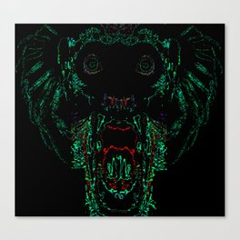 Green Abomination Canvas Print